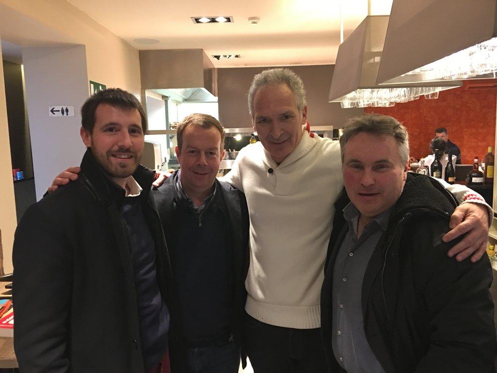 Benjamin, Laurent, Christian Jeanpierre & Emmanuel Delamarre