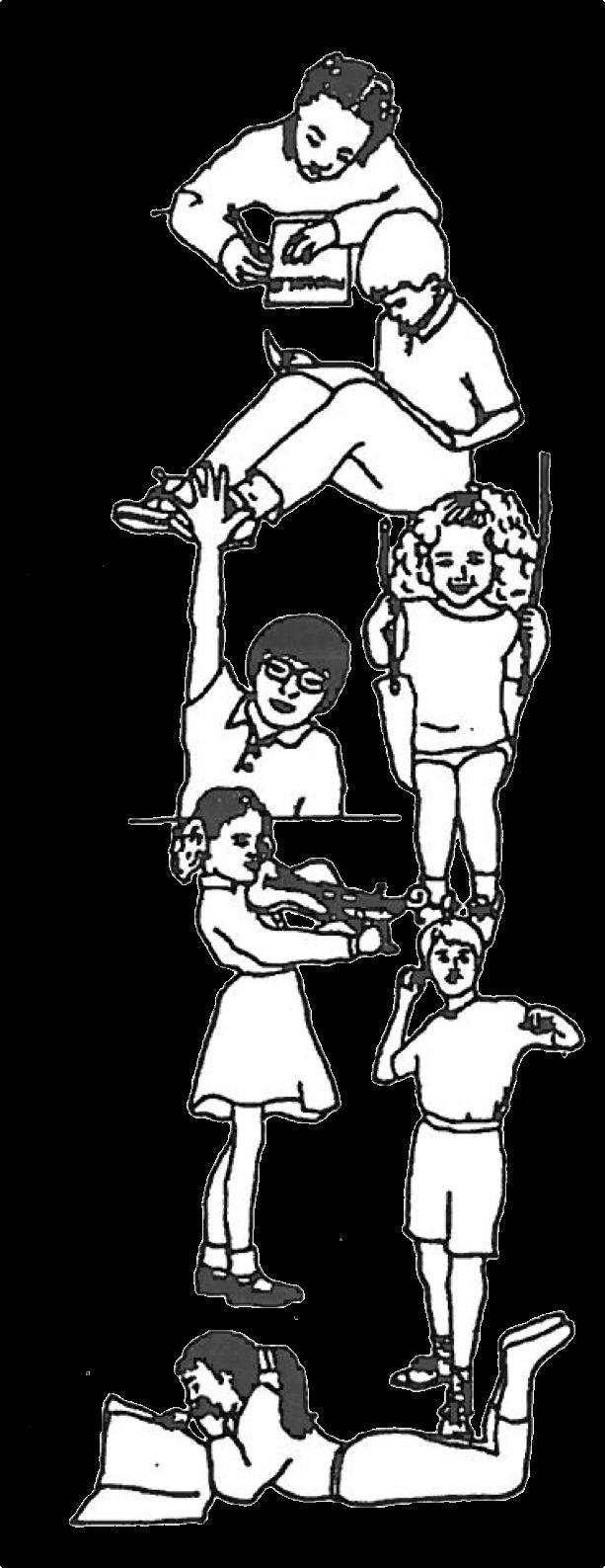 Childhood Activities Illustration