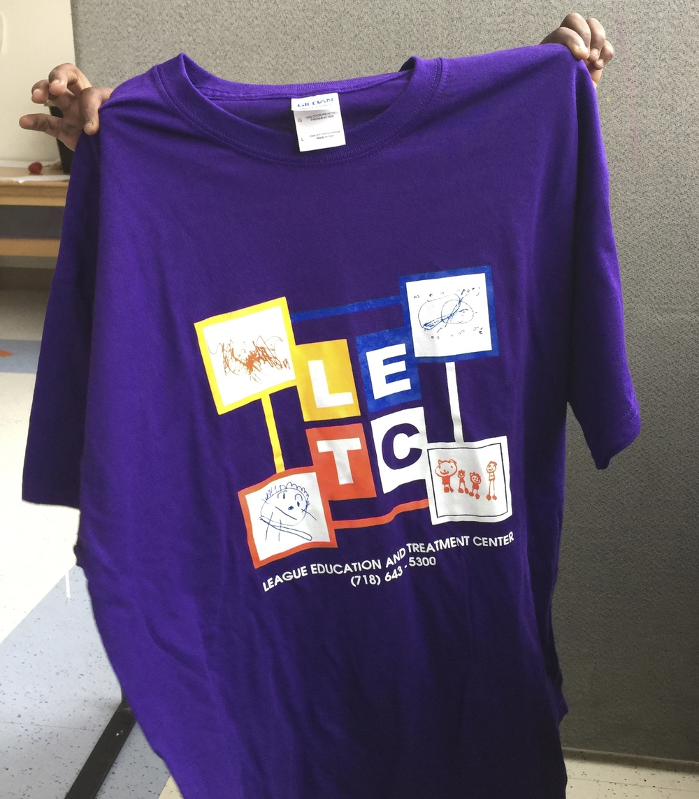 The top 5 donors will receive LETC t-shirts as thank-you gifts during our awards ceremony.