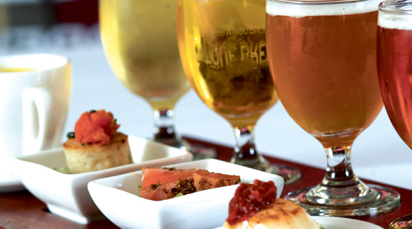 Beer and food pairing