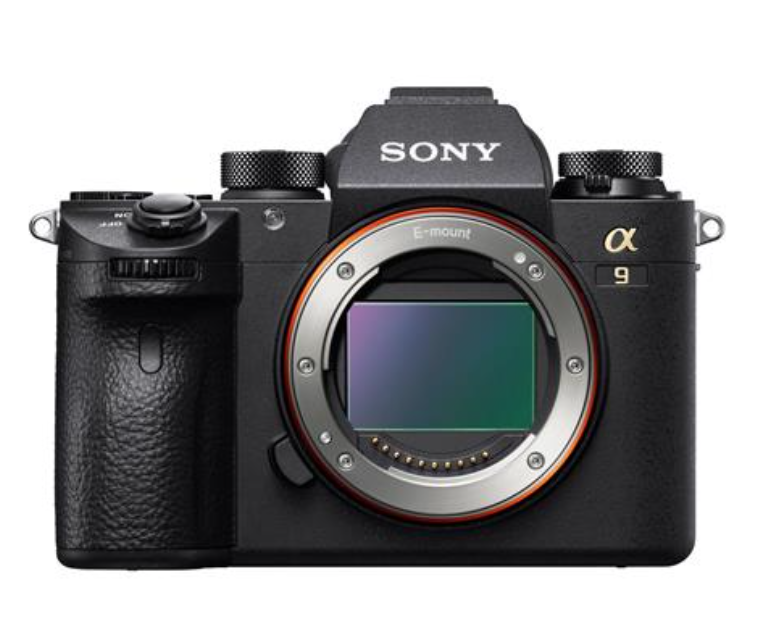 The Sony a9 - Sony's new flagship, 20 fps, totally SILENT mirrorless camera with no mirror black out (in Electronic shutter mode), this camera sets the new standard in full frame high frame rate capture for sports, news, wedding and action portraiture.