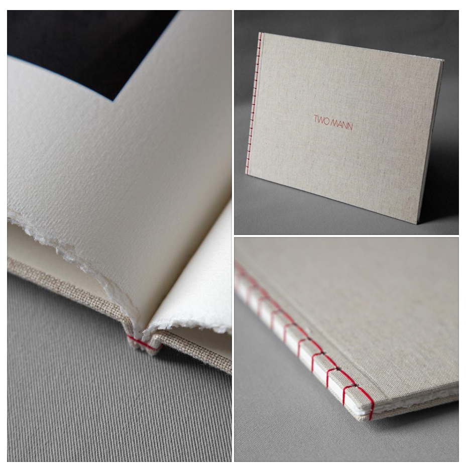 Japanese bounce book on Amalfi paper by Two Mann studios and printed by Graphicstudio