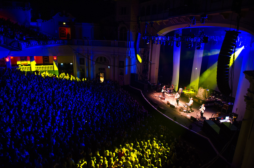 Amazing crowd for our show at Brixton.