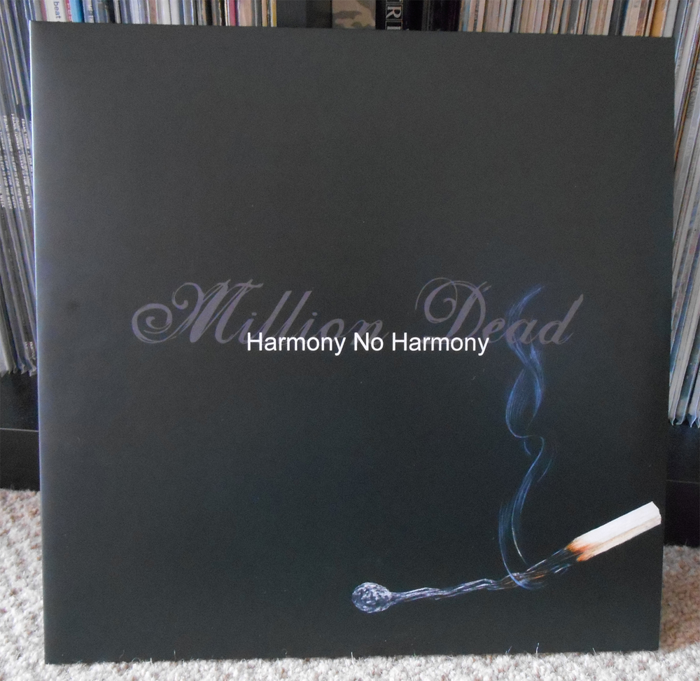 Evan's personal copy of  Harmony No Harmony  sporting his new cover
