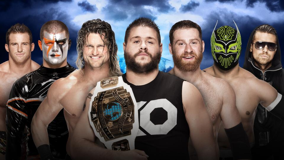Just by looking, which of these chaps would you say has already headlined Wrestlemania? Answers on a tweet to @artbaretta – Image from WWE.com