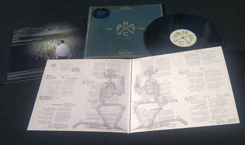 Frank Turner – England Keep My Bones 2016 reissue