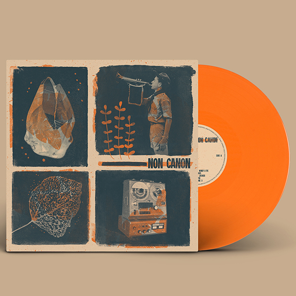 Non Canon – Non Canon on orange vinyl. Click to buy.
