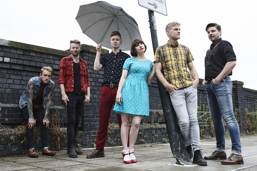 Skinny Lister - photo by David Edwards