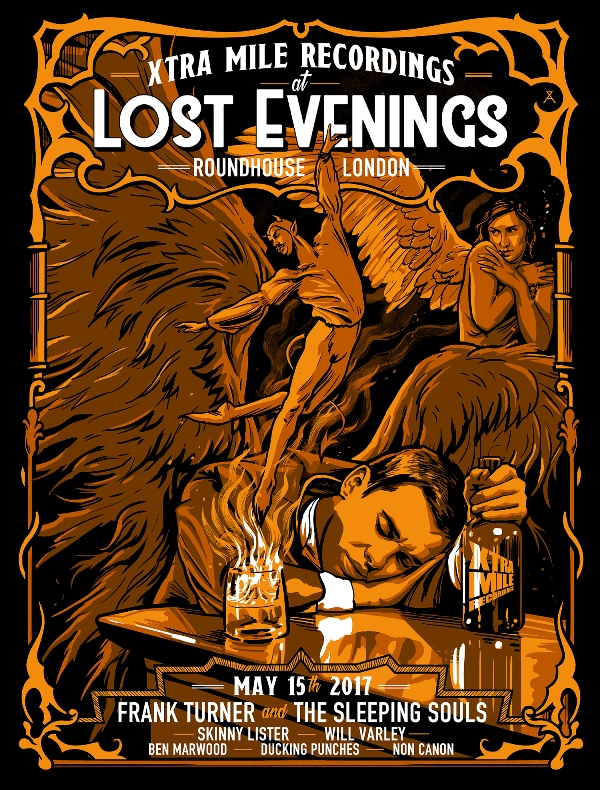 Lost Evenings  Xtra Mile night print (click to buy)