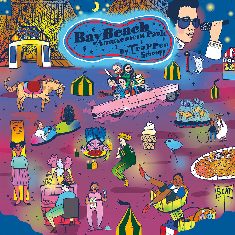 "Trapper Schoepp –  Bay Beach Amusement Park  (click to buy on 10"" vinyl, CD or download)"
