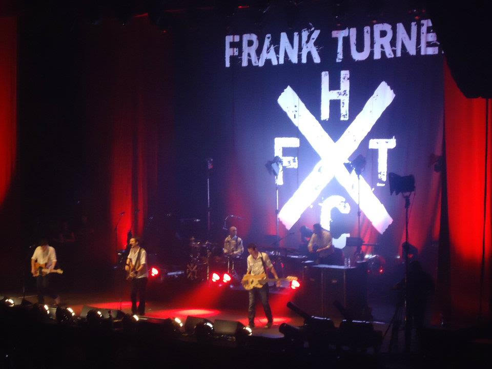 Frank Turner and the Sleeping Souls onstage