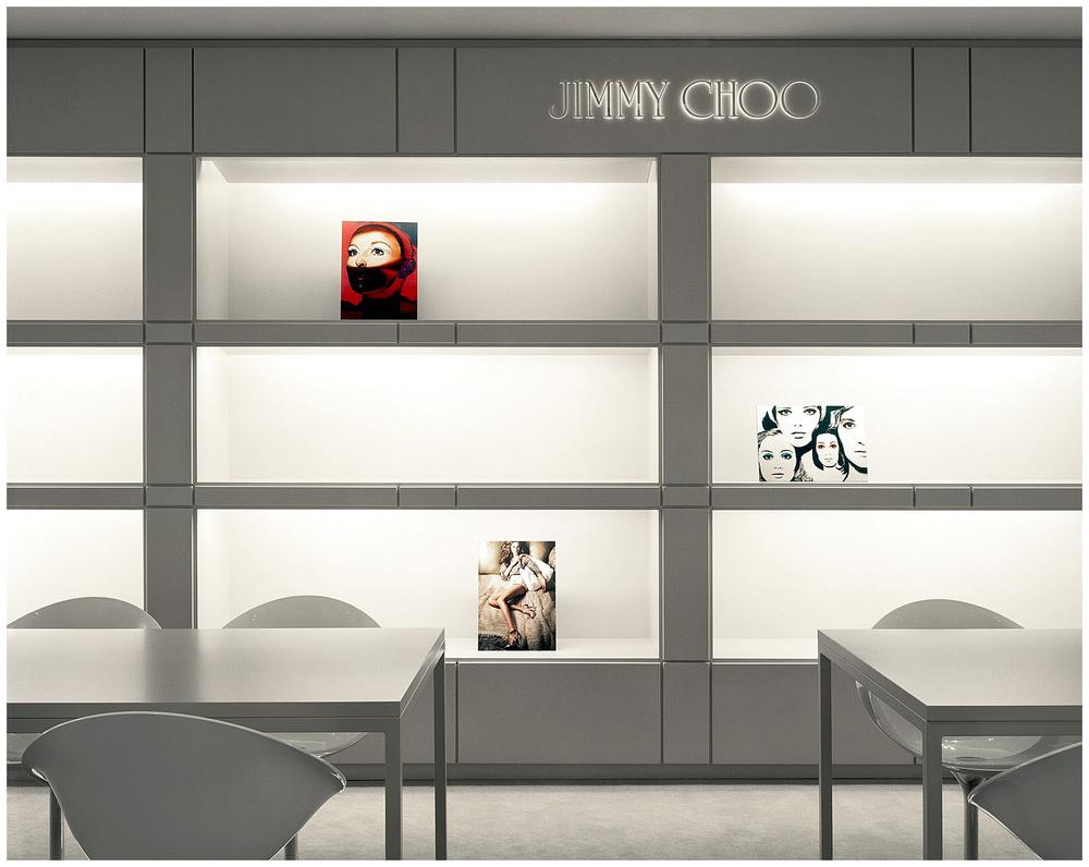 Jimmy Choo NYC HQ by Stylander DesignGroup www.stylander.com