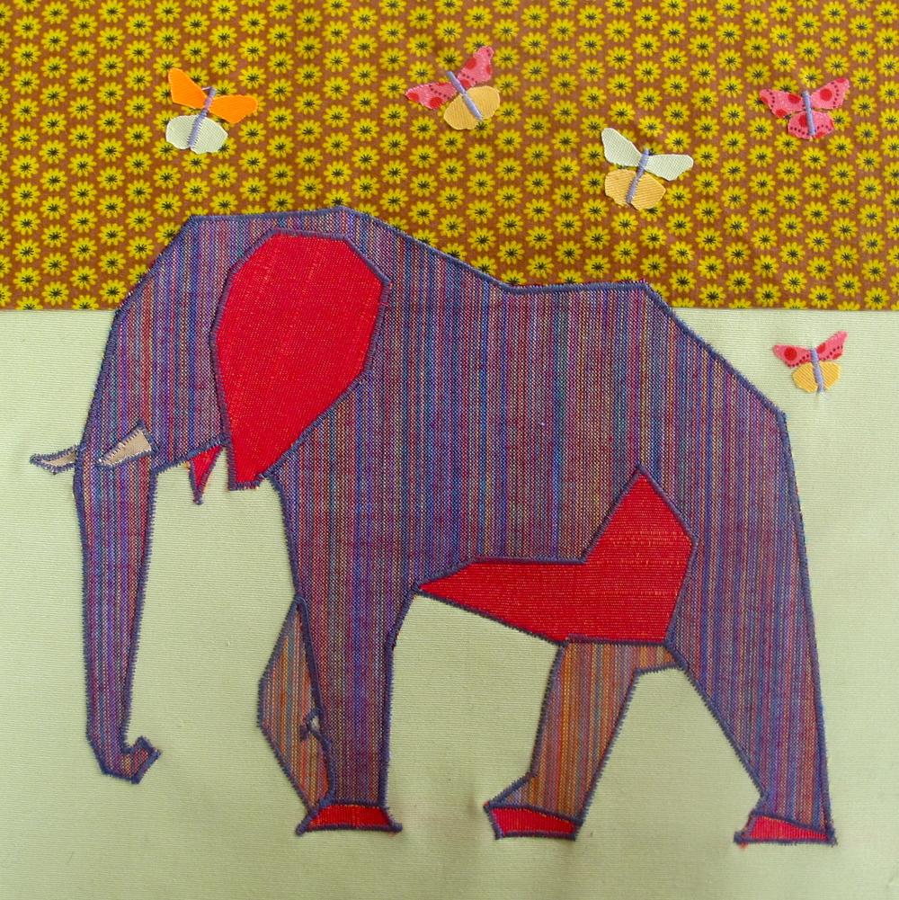 Elephant panel
