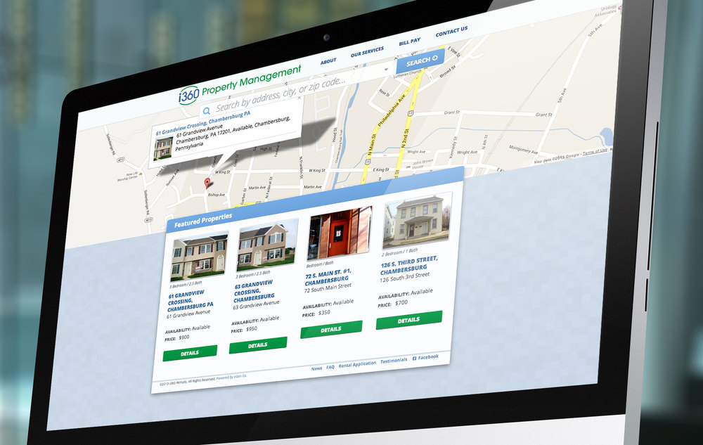 i360 Property Management Website