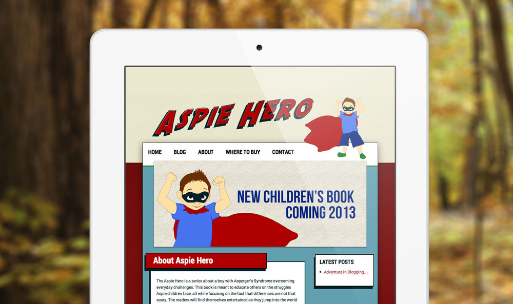 Aspie Hero Website