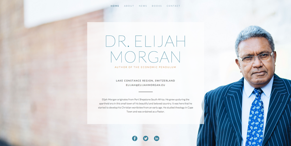 We are also excited to show you Elijah Morgan's new website designed by our creative team here at eGen.co!  http://www.elijahmorgan.eu/