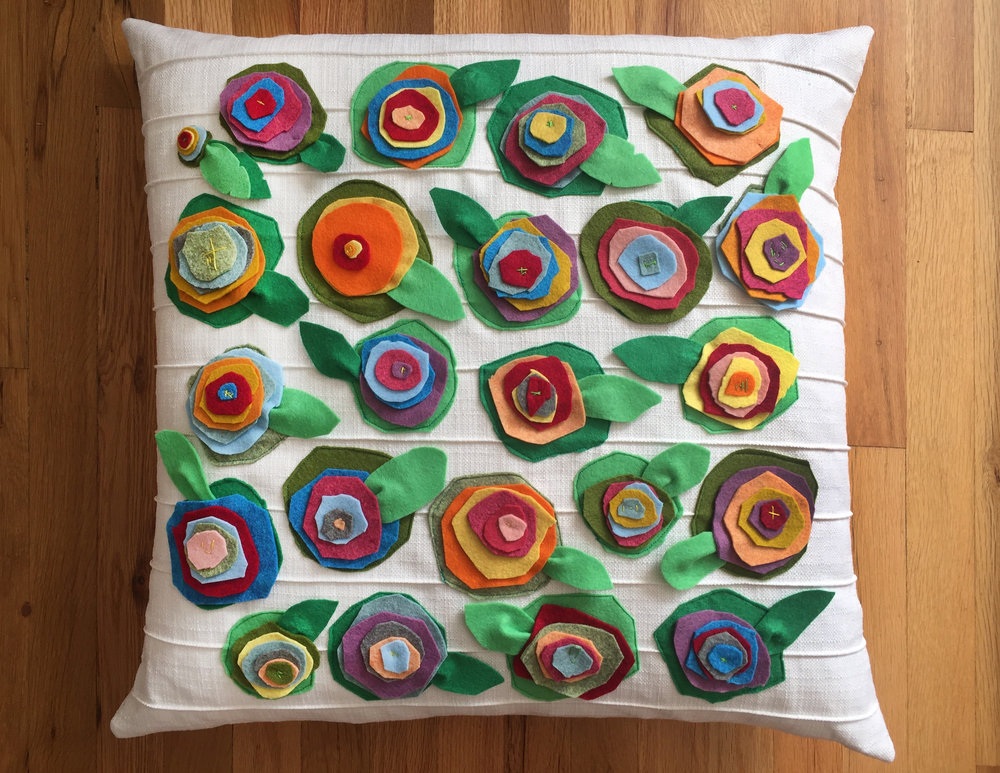 Gilkey-Bass 2nd Grade - Garden Pillow