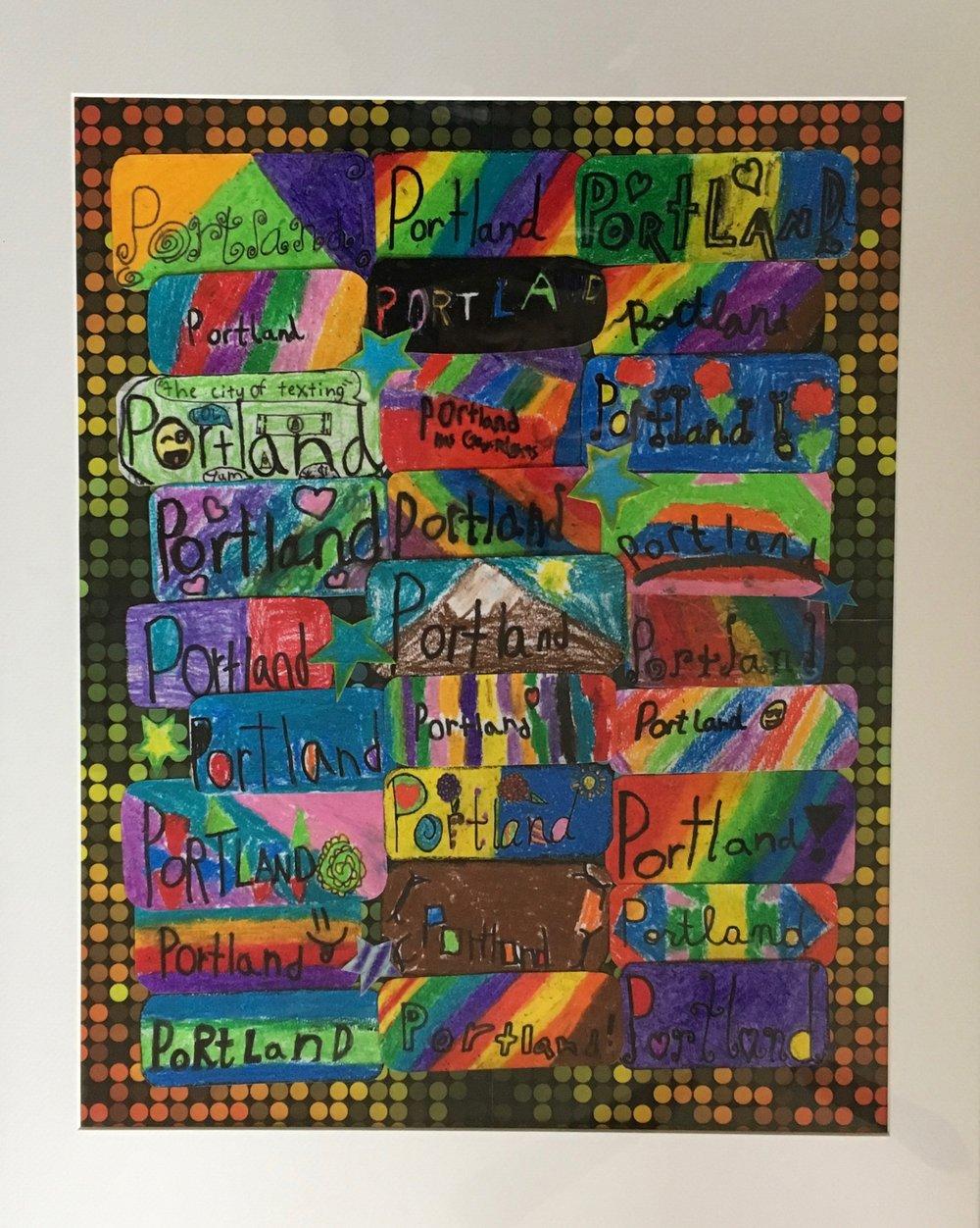 Stelter's 3rd Grade - Portland Art