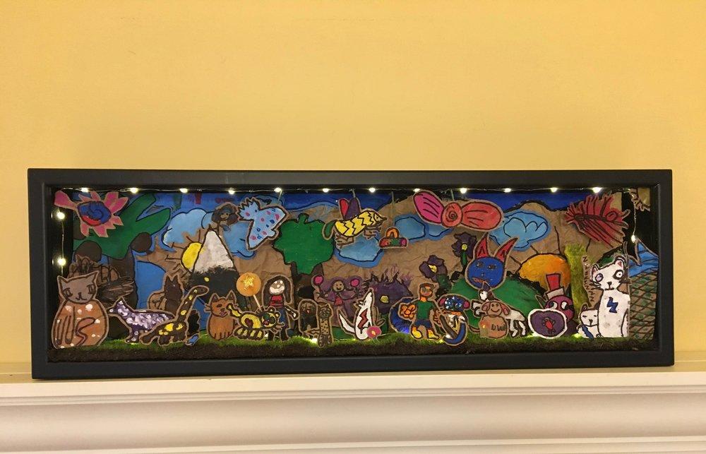 Cronen's 2nd Grade - Diorama