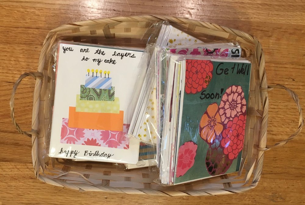 Ms. Mininger's 5th Grade - Handmade Greeting Cards