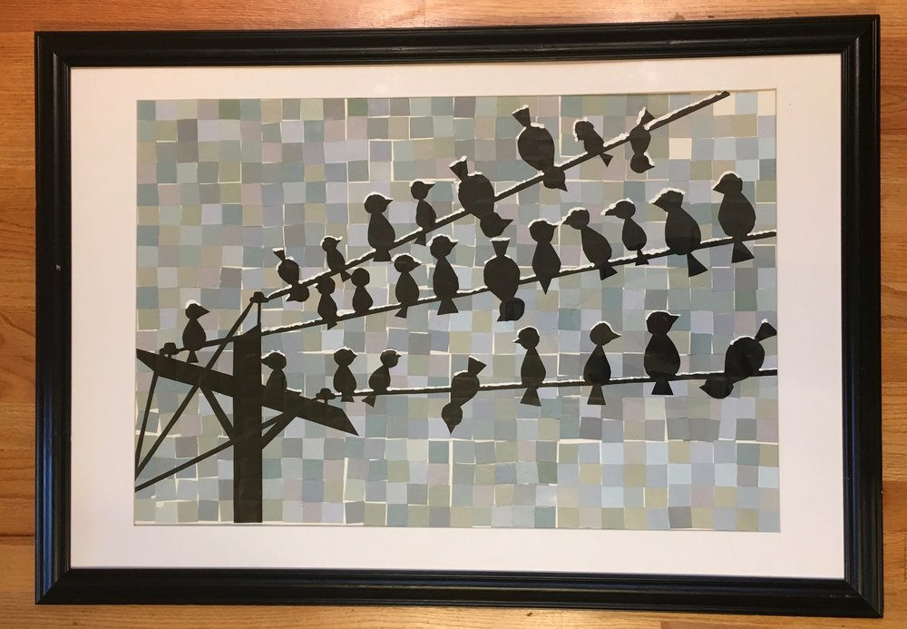 Mrs. Cranley - Birds on a Wire