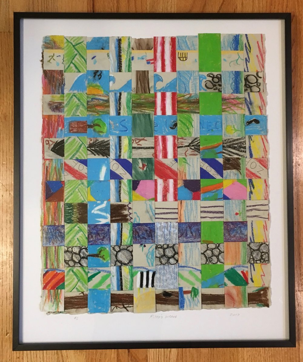Mrs. Rizzo's 4th Grade - Paper Weave #2