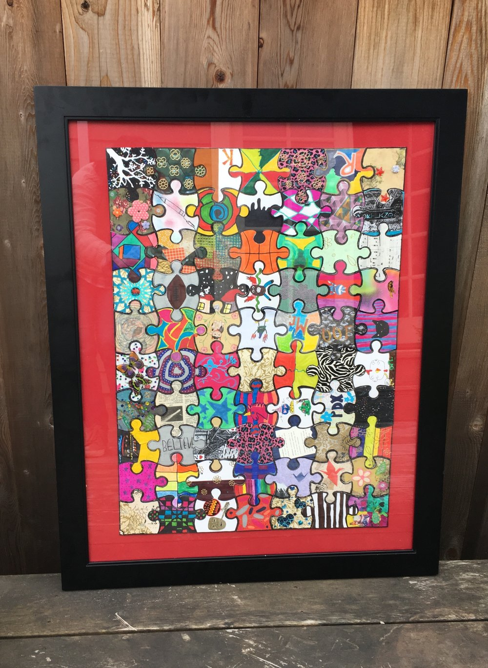 Mr. Rozell's 5th Grade - Mixed Media Puzzle