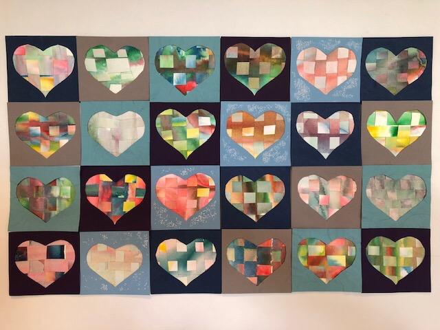 Ms. Coholan's 3rd Grade - Woven Hearts