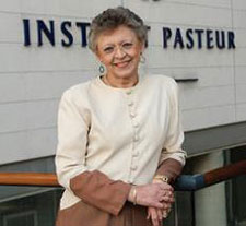 Photo: Institut Pasteur Dr. Barré-Sinoussi is based at the renowned Institut Pasteur in Paris.