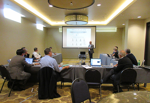 Ten gene therapy experts participate in an amfAR-sponsored think tank in Portland, OR.