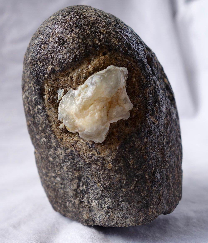 Quartz Crystal in Basalt
