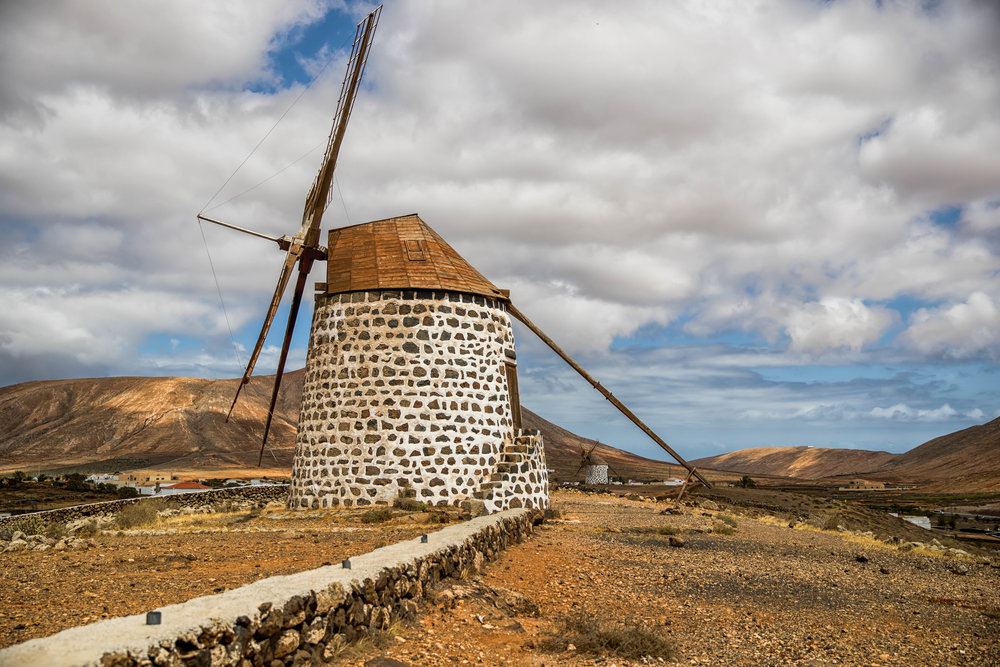 Twin Windmills