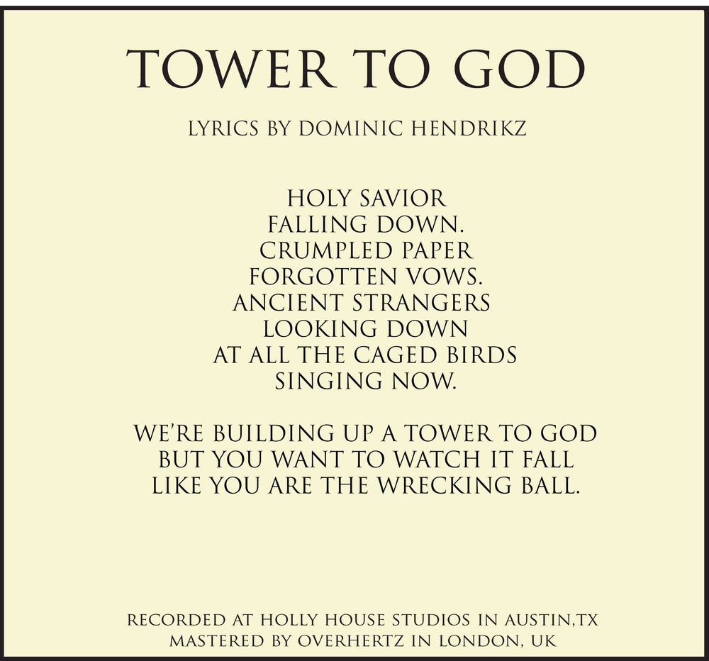 TOWER TO GOD