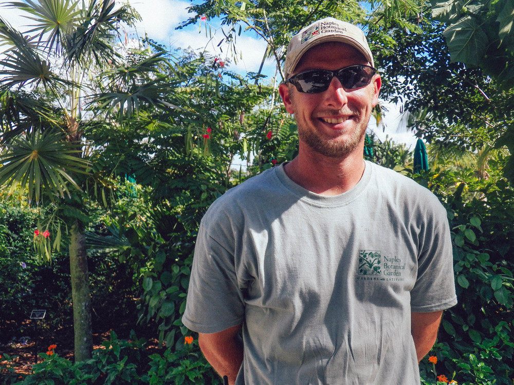 We were lucky to chat with the lead gardener of the horticulture department,Stephen Jurek, about his role as plant-man in the gardens.