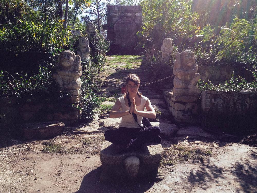Replication of theCandi Suka Javanese Ruins