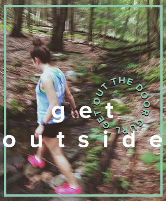 You can even plan to go do a trail run. Surround yourself with nature and the miles go by like nothing. There's nothing quite like FRESH oxygen around you and finishing with dusty brown shoes. Unleash your inner Thoreau.