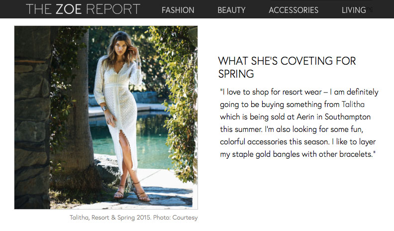 The Zoe Report - Women of Style: Aerin Lauder