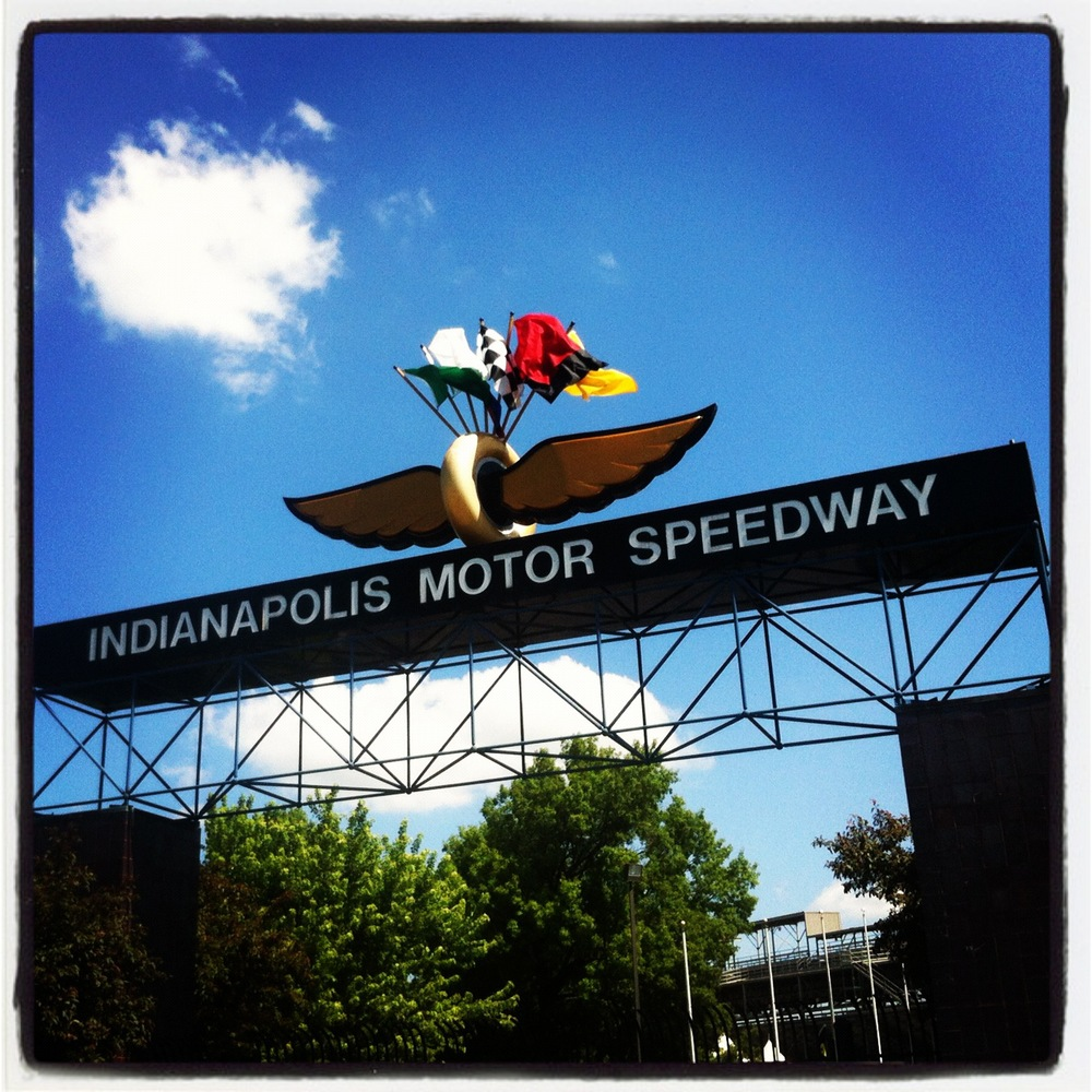 The Beautiful Indianapolis Motor Speedway in May 2012