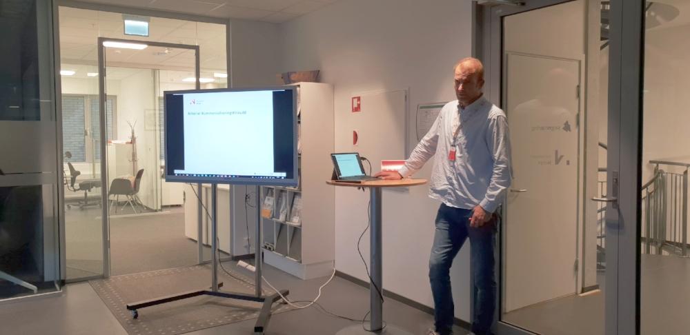 Jørgen Berg i Innovasjon Noreg stod for det faglege innhaldet.