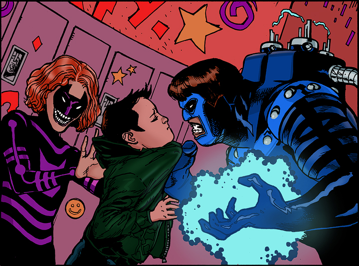 Line art: Doug Manhke.  Colors: Tom Nguyen
