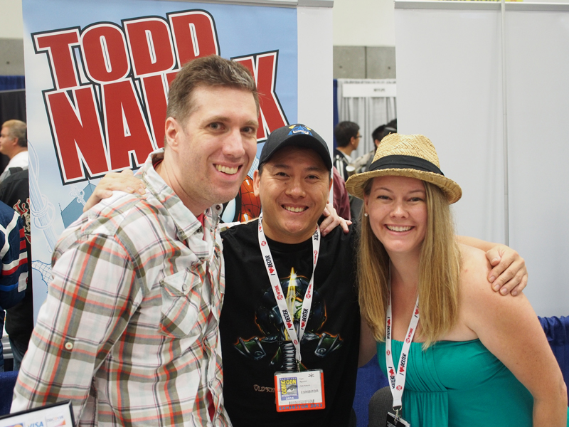 Sandwiched between Todd and Dawn, two of the most genuinely kind people I've ever met.