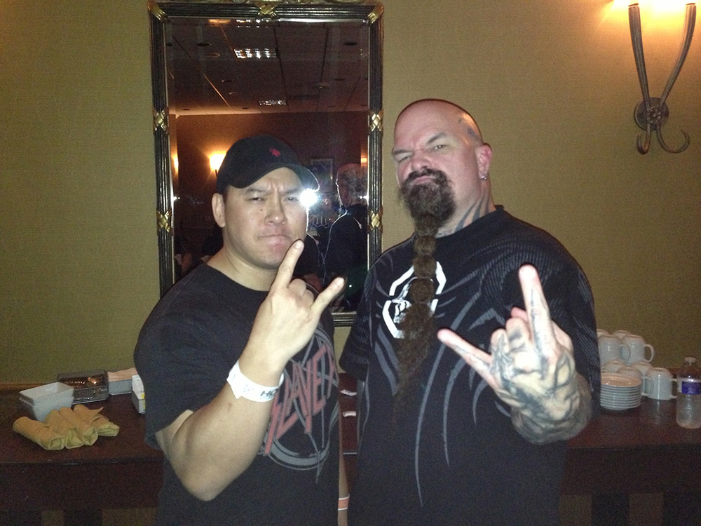 Me and Kerry King.
