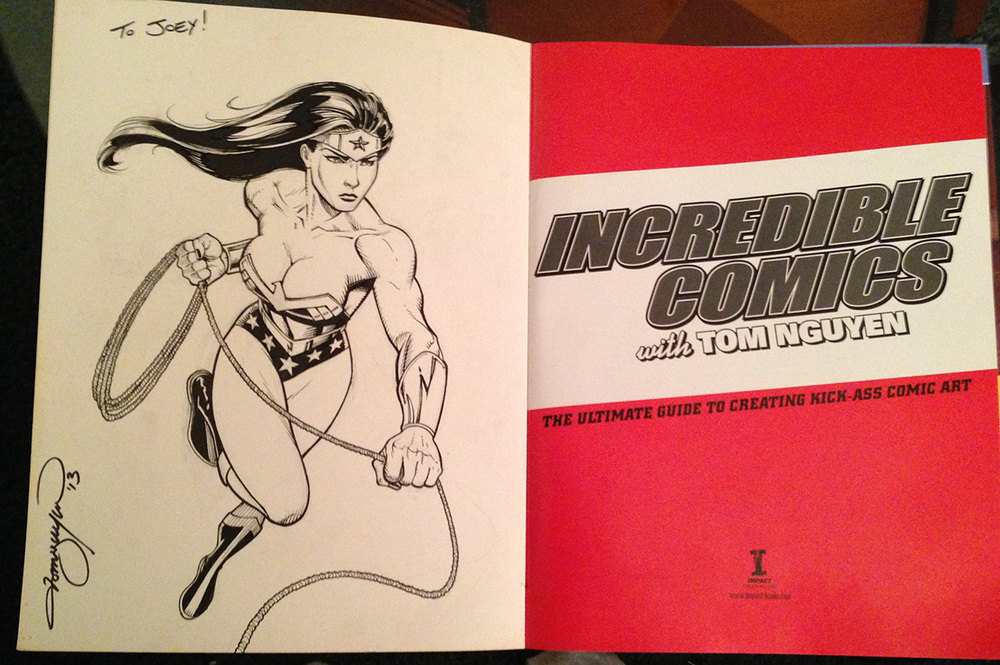 Wonder Woman. Once again, if you buy my book...! ;)