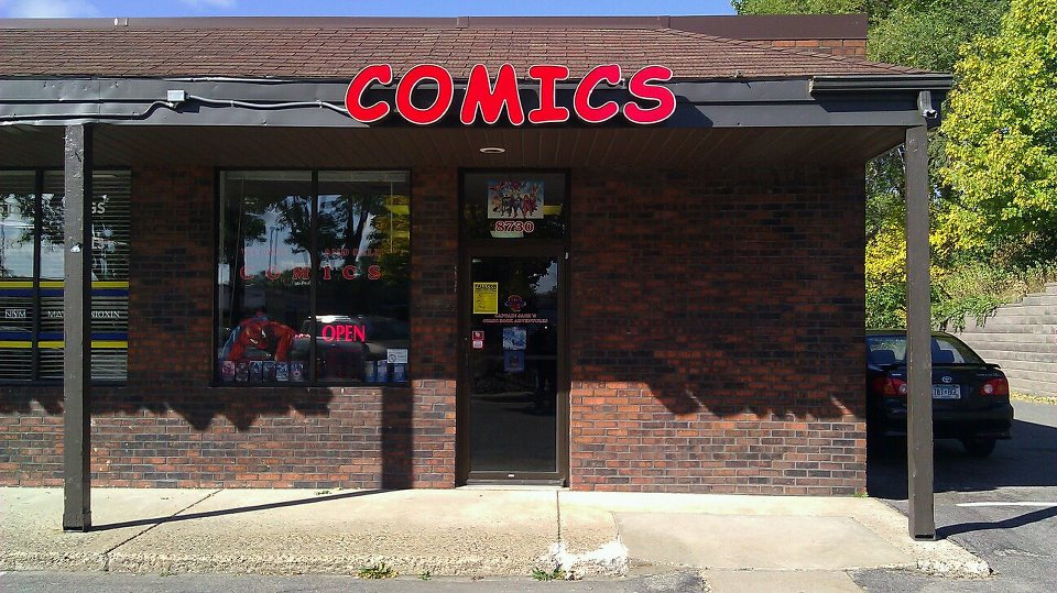 Captain Jack's Comics 8730 Lyndale Ave. South Bloomington, MN 55420 (952) 583-8538