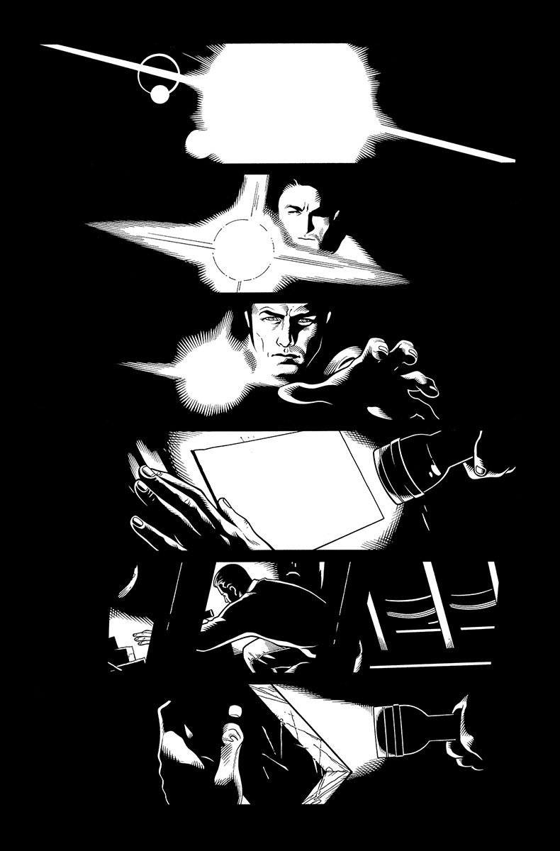 Batman and Robin Annual #2, page 2 Pencils: Doug Mahnke Inks: Tom Nguyen