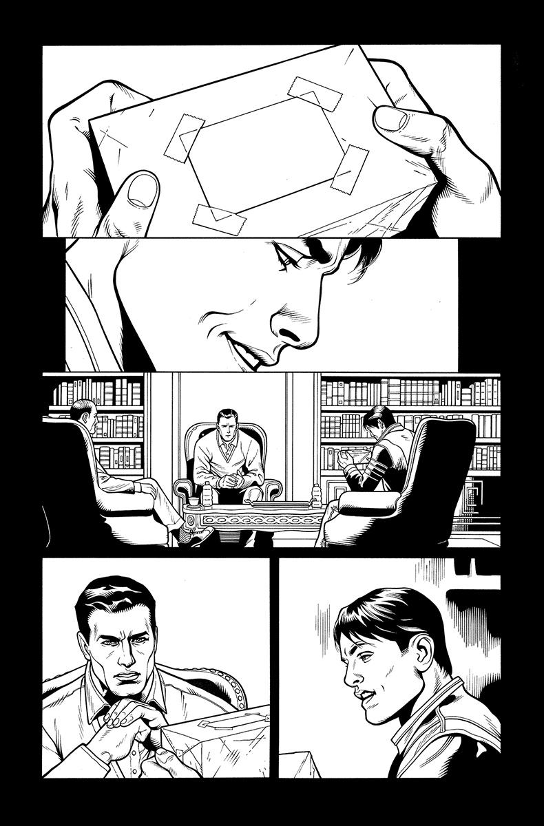Batman and Robin Annual #2, page 5 Pencils: Doug Mahnke nks: Tom Nguyen