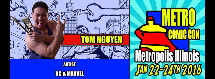 I hope to meet you guys in person at   Metro Comic Con   this weekend!