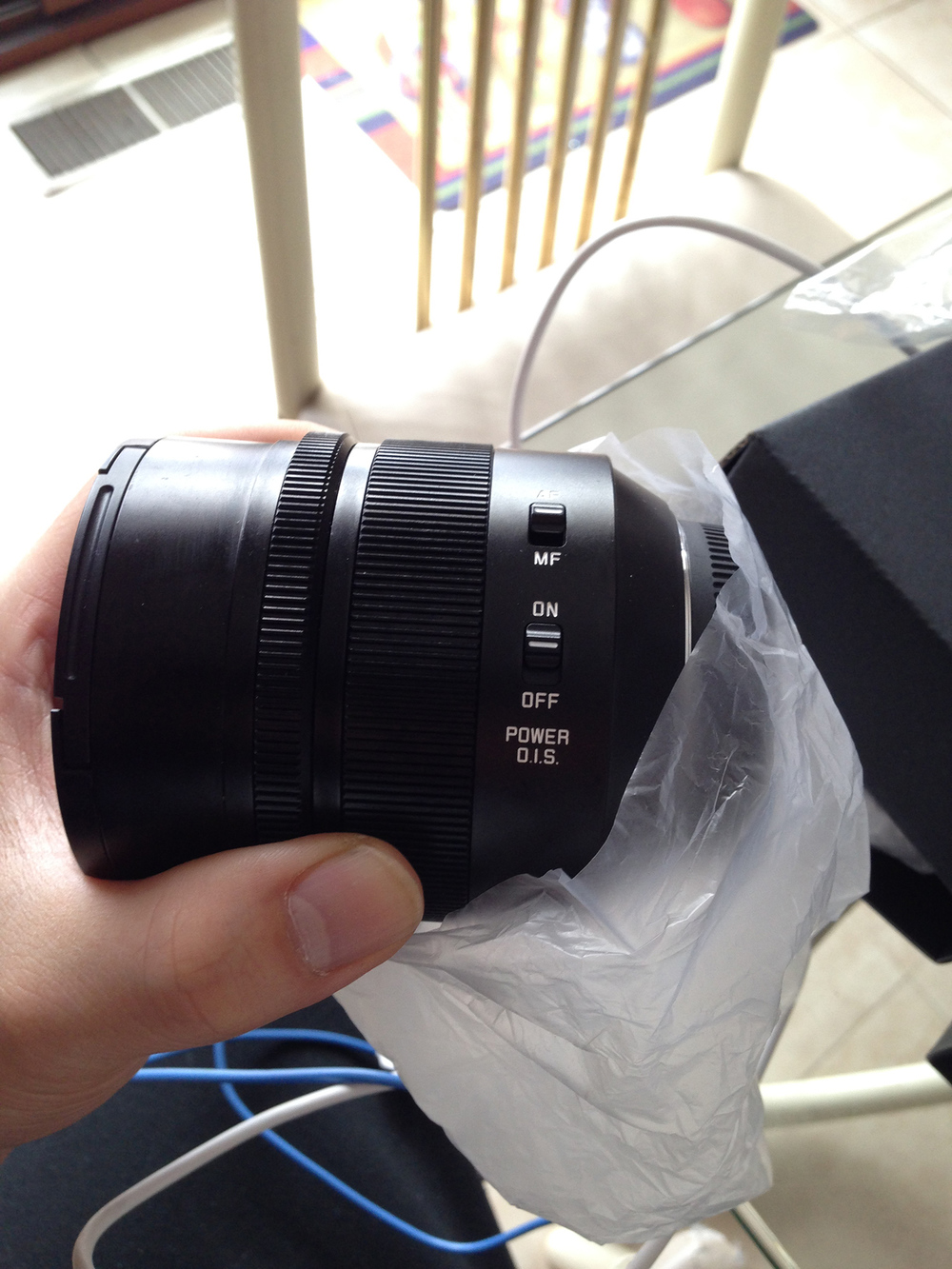 Overall the lens was packaged very nicely.