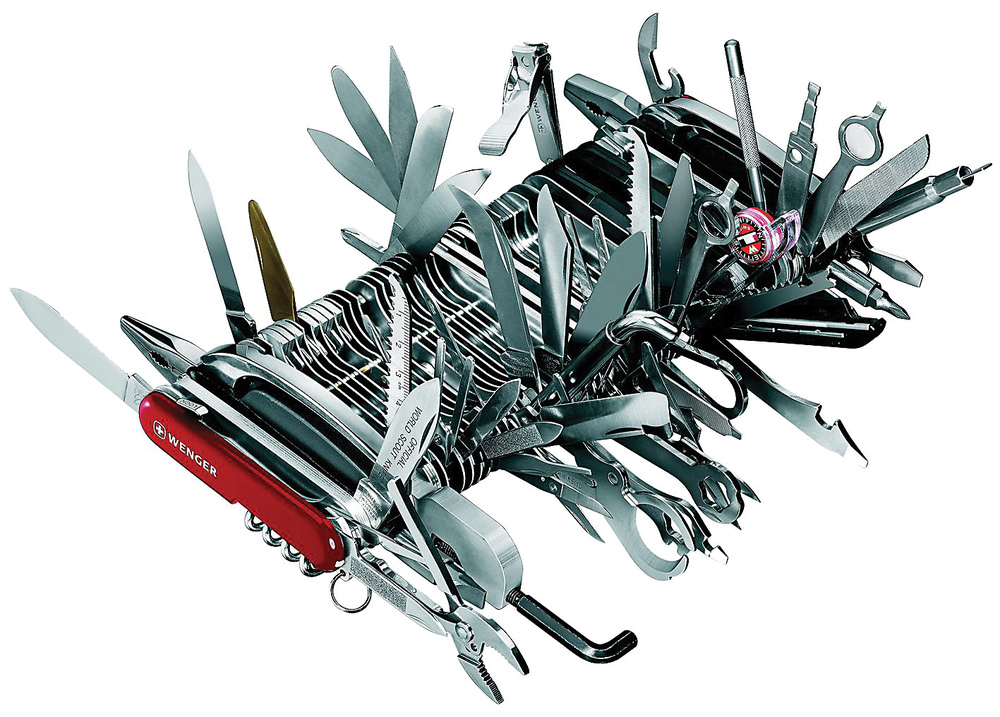 How practical is a Swiss army knife that does it all?