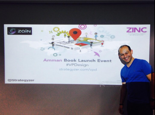 Amman Meets Value Proposition Design event with   @ alkarmi   and  @ ZainJo